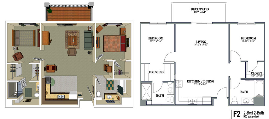 Old Age Home Floor Plans