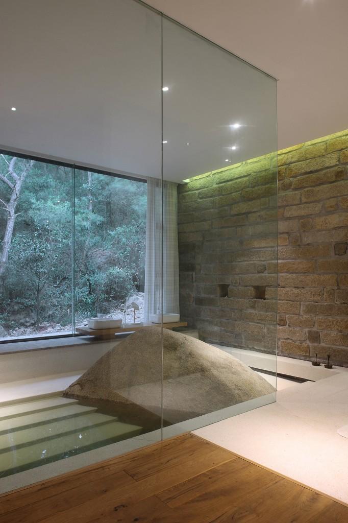 Returning hut fmx interior design architecture residential xiamen