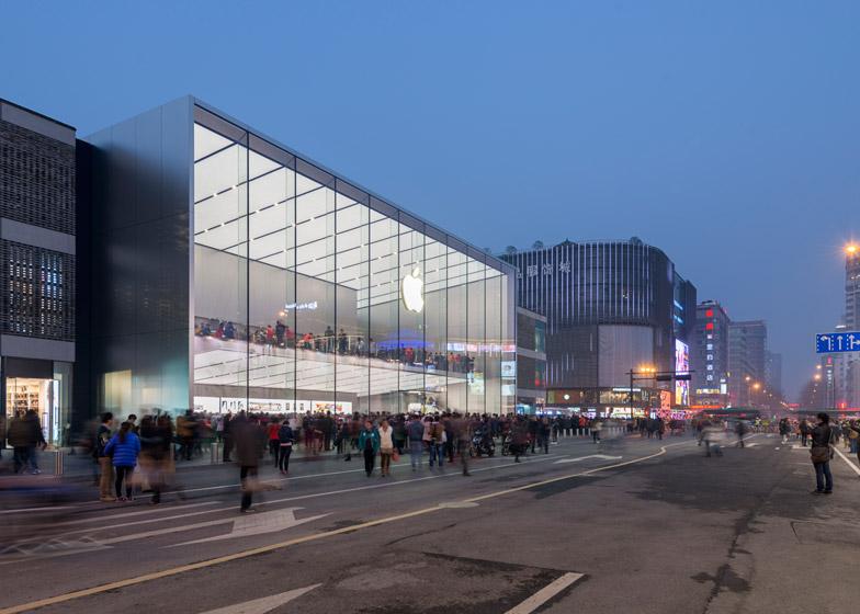 Apple Hangzhou China Store Foster Partners