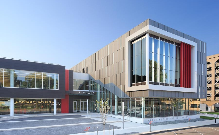 Cedar Rapids Public Library | OPN Architects