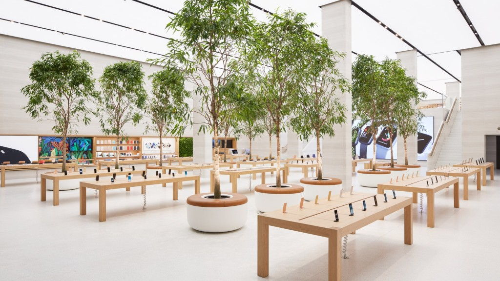 Apple London Store Foster Partners