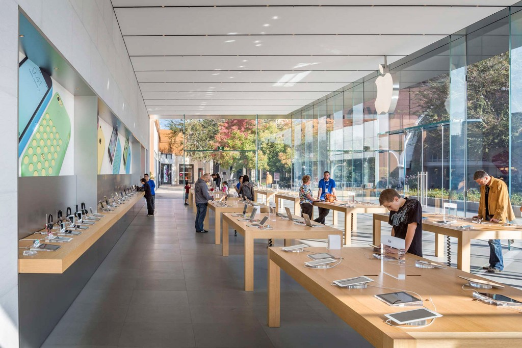Apple Store Stanford Bohlin Cywinski Jackson