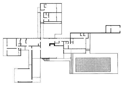 M classic kaufman house richard neutra for Adhouse plans