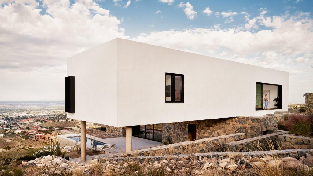 Franklin mountain house hazelbaker rush for Modern homes el paso
