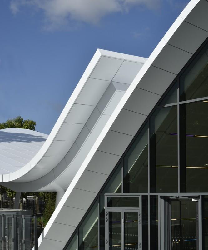 Pavillon d'Accueil Eole - Crédit Agricole12, place des Etats-Unis - 92120 Montrouge