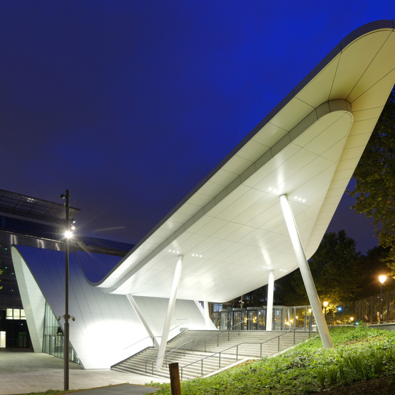 Pavillon d'Accueil Eole - Crédit Agricole -Nuit 12, place des Etats-Unis - 92120 Montrouge-Sept.2015
