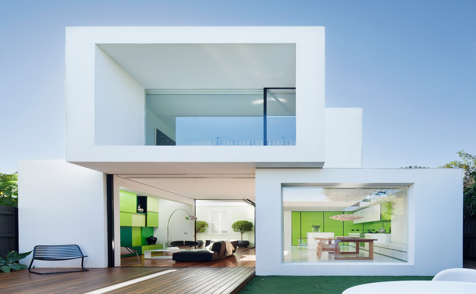 36 sml house levenbetts for Casa cubo minimalista