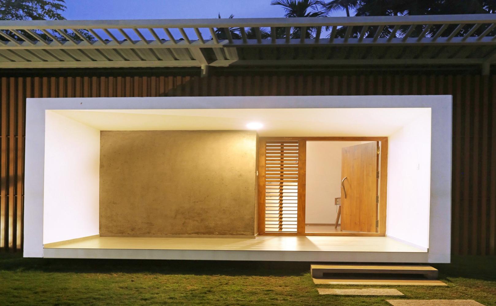 Residence in Perinthalmanna : ZERO STUDIO