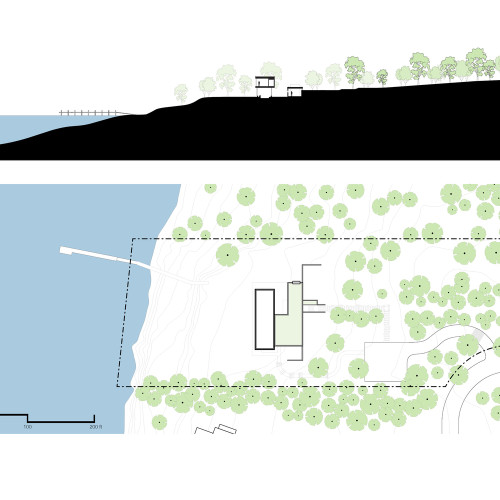 Shore_House_Site_plan___Section