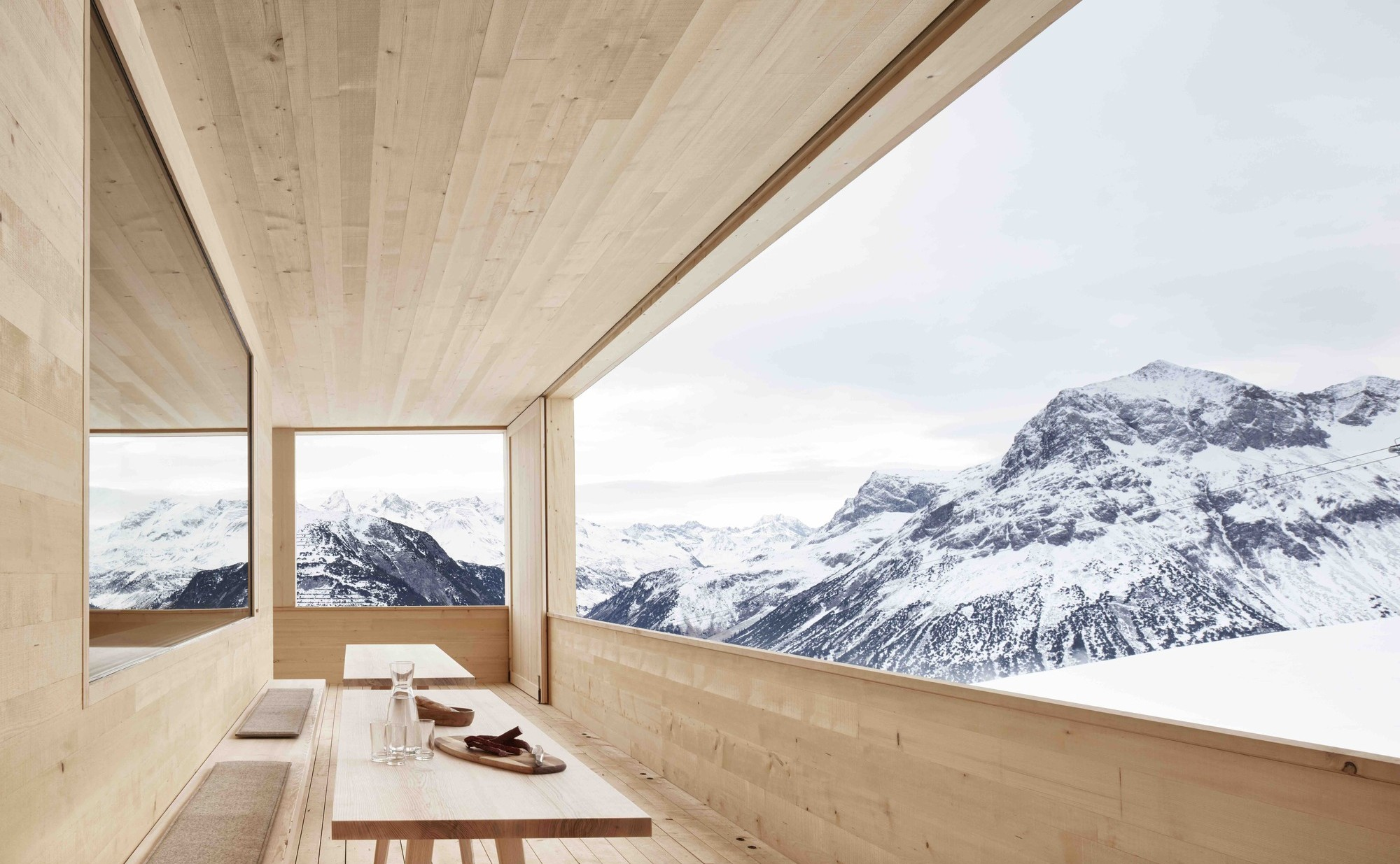 Ski Lodge Wolf | Bernardo Bader Architects