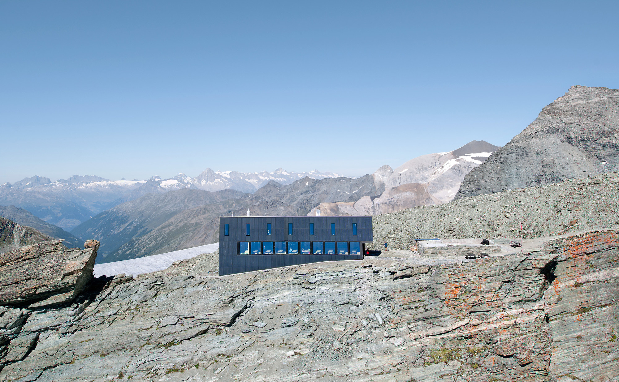 New Mountain Hut At Tracuit | Savioz Fabrizzi
