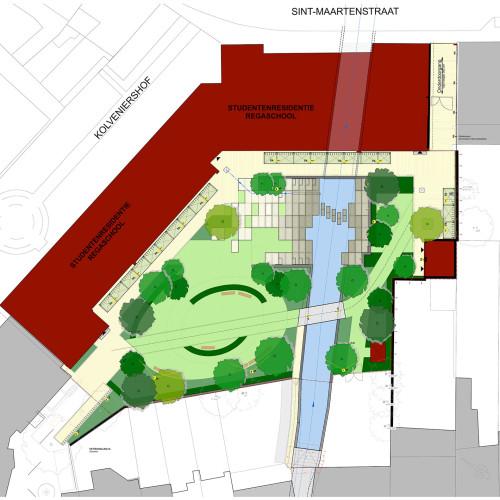 KULeuven-de-Vunt-Presentatieplan-bomen-in-kleur