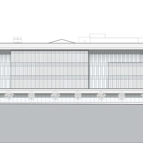 Rutgers_University-CamdenNursing_and_Science_Building_elevation_southwest