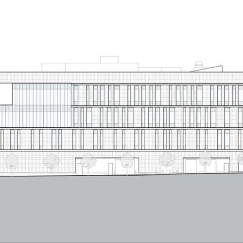 Rutgers_University-Camden_Nursing_and_Science_Building_elevation_east