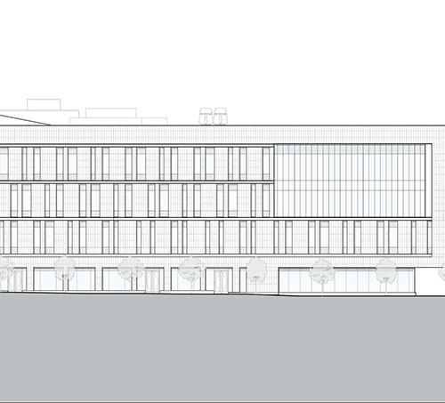 Rutgers_University-Camden_Nursing_and_Science_Building_elevation_north