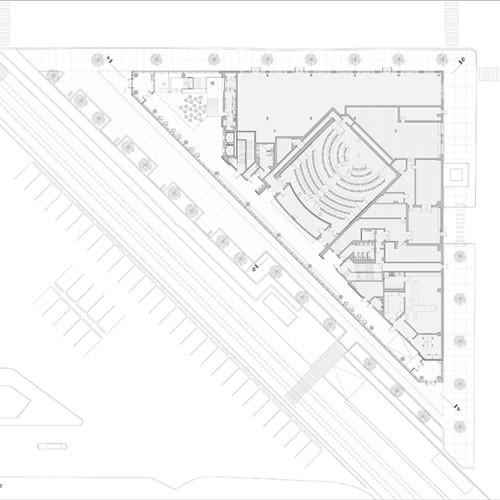 Rutgers_University-Camden_Nursing_and_Science_Building_plan_1st_floor