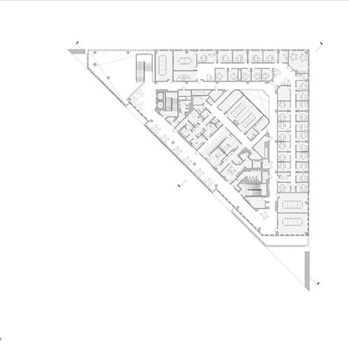 Rutgers_University-Camden_Nursing_and_Science_Building_plan_4th_floor