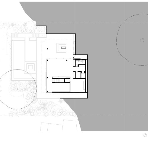 Koichi_Takada_Architects_Waterfront_Retreat_LEVEL1_PLAN