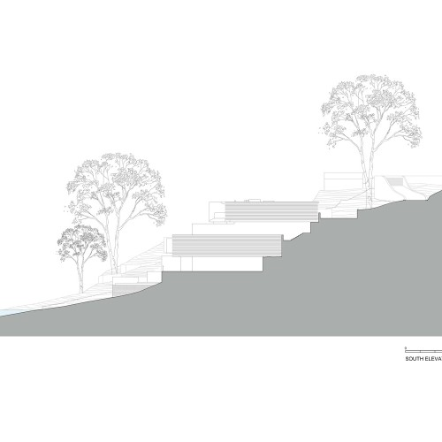 Koichi_Takada_Architects_Waterfront_Retreat_SOUTH_ELEVATION