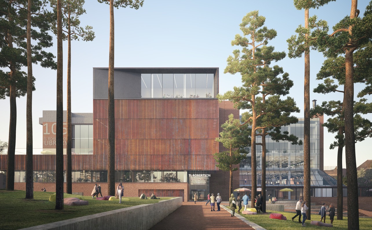 Curtin_University_Library_Exterior_Render_©Schmidt_Hammer_Lassen_Architects