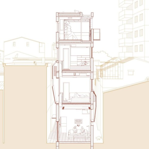03-2-South-north_Sectional_Perspective