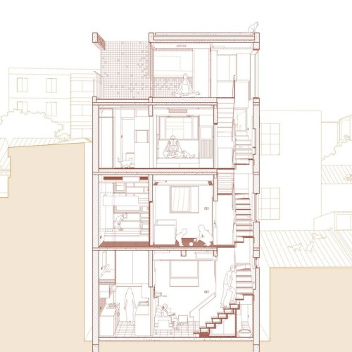 03-3-East-west_Sectional_Perspective